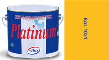 Vitex Platinum satén RAL 1021 0,75L